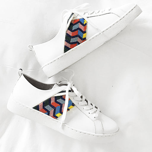 Ainsley Chevron Beaded Sneaker-SNEAKERS-Jack Rogers USA
