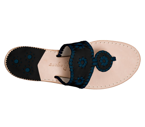 Custom Jacks Sandal Medium - Black / Midnight