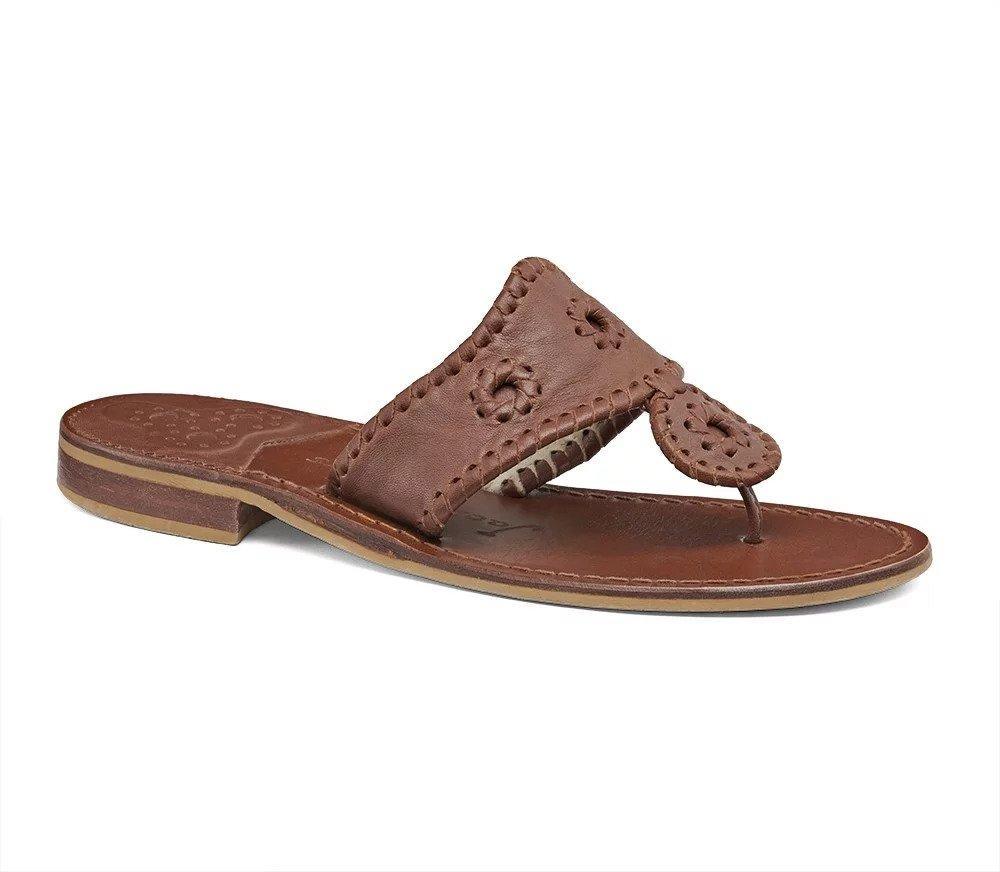 Natural Jacks Flat Sandal