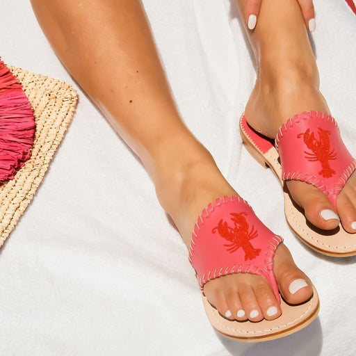 Beaded Lobster Sandal-Jack Rogers USA