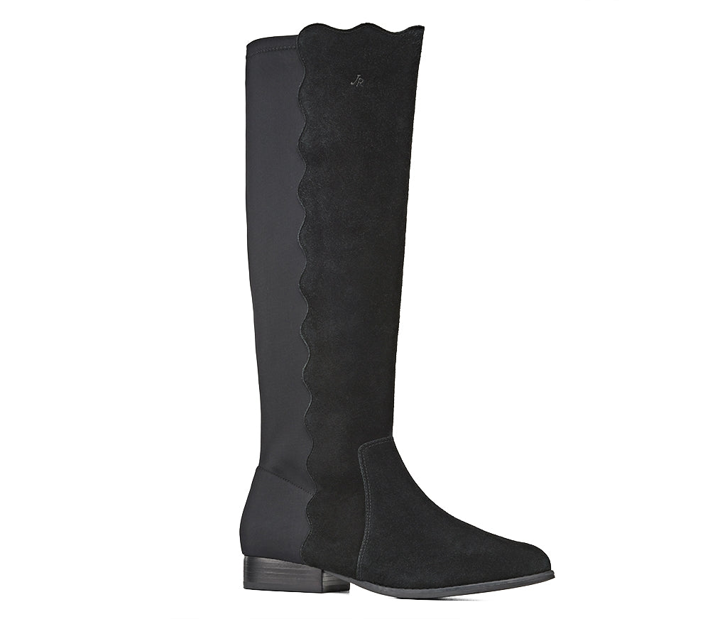 Catherine Suede Boot-Footwear-Jack Rogers USA