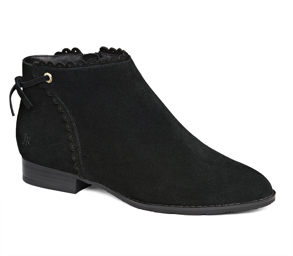 Charlotte Suede Bootie-BOOTS-Jack Rogers USA