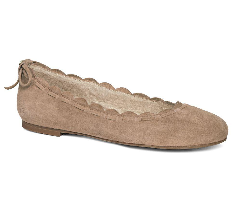 Lucie Suede Flat-Jack Rogers USA