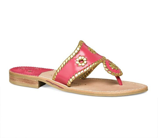 Wide Nantucket Gold Sandal-Jack Rogers USA