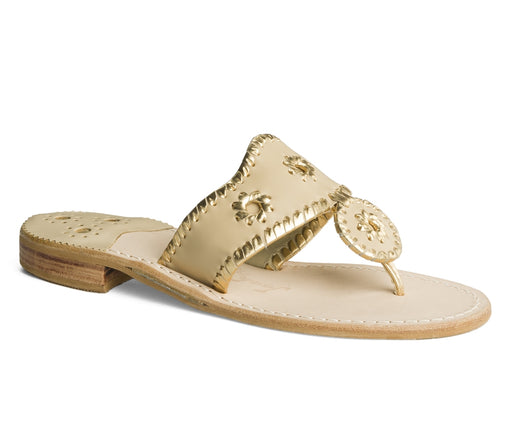 Nantucket Gold Sandal