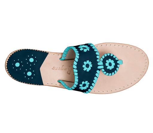 Custom Jacks Sandal Medium - Midnight / Caribbean Blue