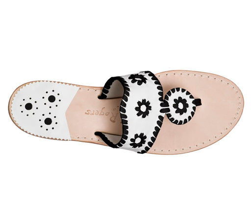 Custom Jacks Sandal Wide - White / Black