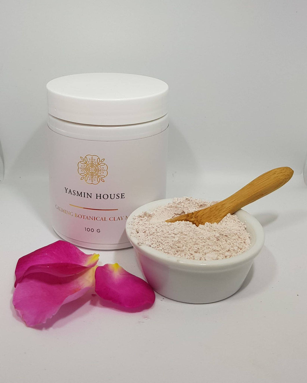 Yasmin House Luxury Pink Clay Mask -100g