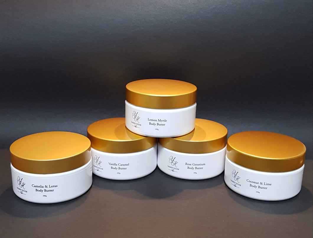 Body Butter with Essential Oils