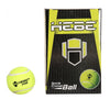 HEBE CRICKET TENNIS BALL STAR, GREEN & RED
