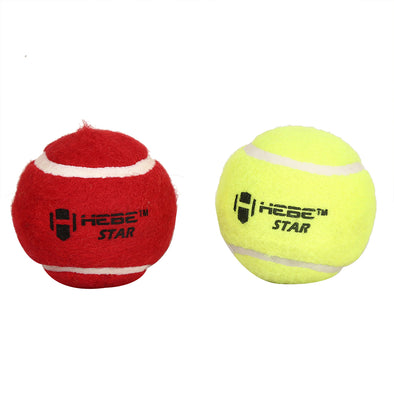 HEBE CRICKET TENNIS BALL STAR, YELLOW