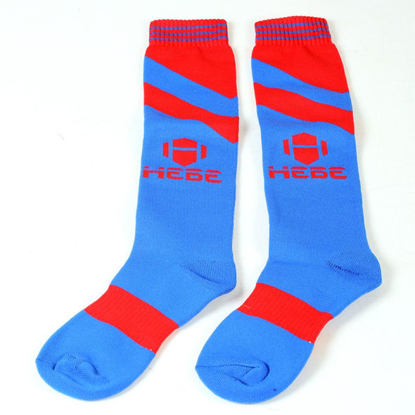 Hebe Football Stocking Q Blue
