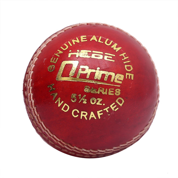HEBE CRICKET LEATHER BALL Q PRIME, RED