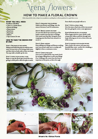 PDF - flower crown instructions