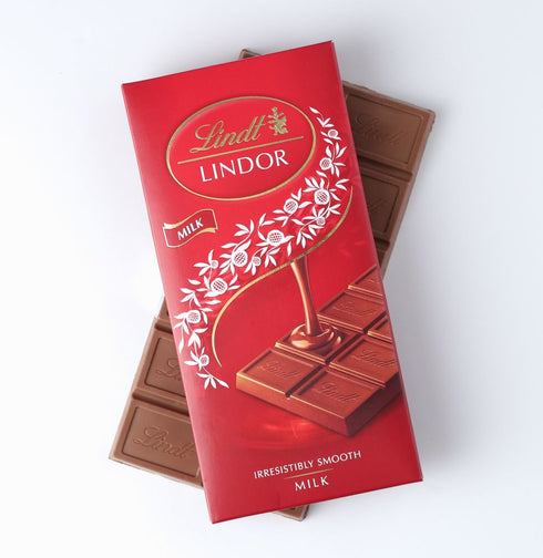 Lindt Lindor Milk Chocolate Bar