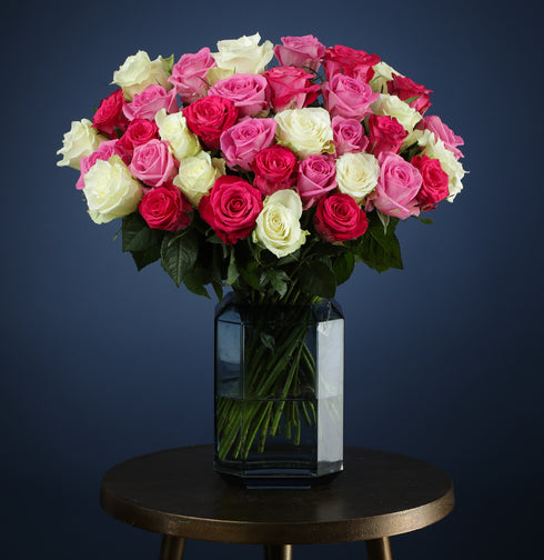 Luxury Mixed Valentines Roses