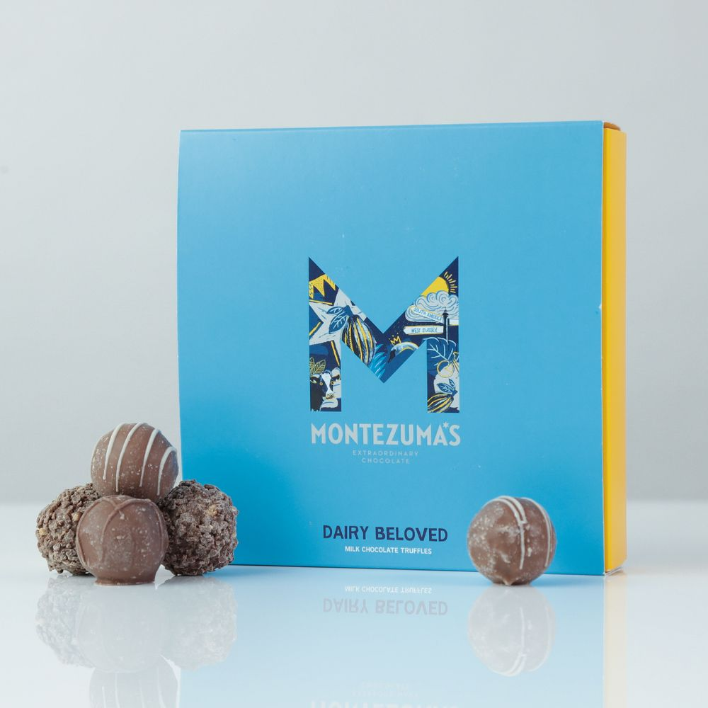 Montezuma's 'Dairy Beloved' truffles