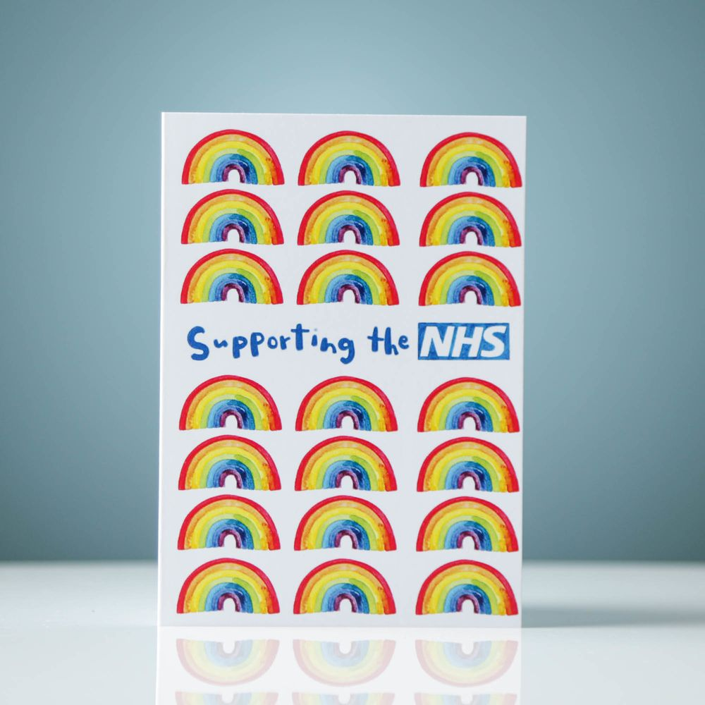 Supporting the NHS (with many rainbows)