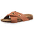 VLLY Women's Cork Sandals Slip-On Suede Slides