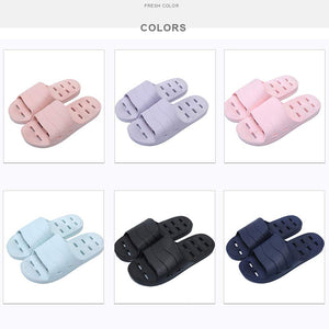 Shower Sandal Slippers with Drainage Holes Quick Drying Bathroom Slippers Gym Slippers Soft Sole Open Toe House Slippers for Men and Women