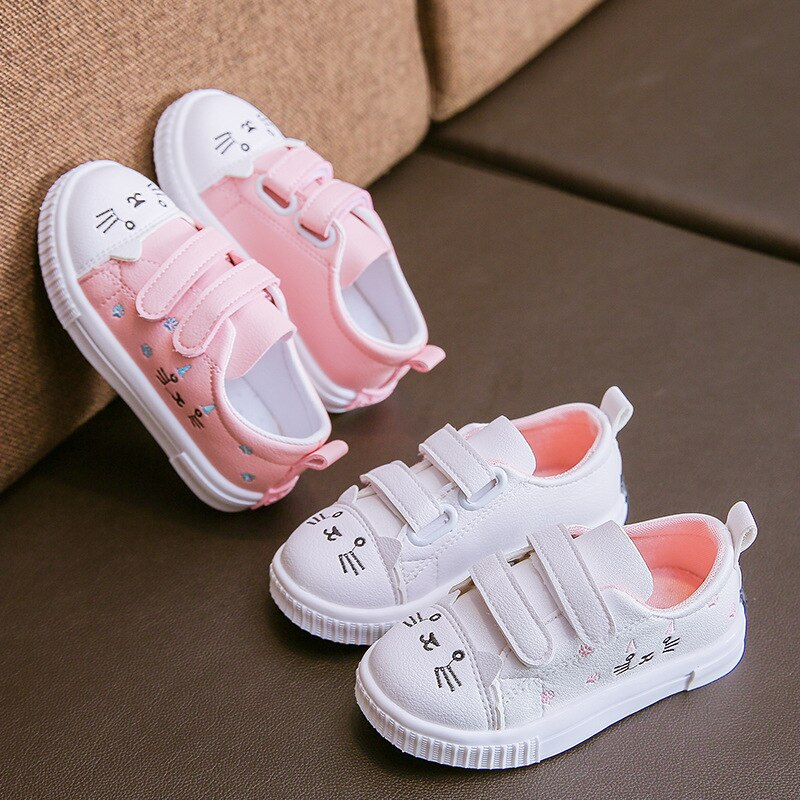Kids Baby Toddler Girl Autumn Winter Strawberry Princess Shoes Sneakers Cute
