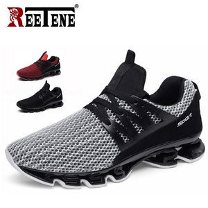 REETENE Summer Men Sneakers Fashion Spring Outdoor Shoes Men Casual Men'S Shoes Comfortable Mesh Shoes For Men Size 36-48