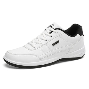 PINSV Sneakers Men Shoes Casual White Designer Shoes Men Footwear Lace Up Shoes Men Sneakers Zapatos Hombre Size 39-44