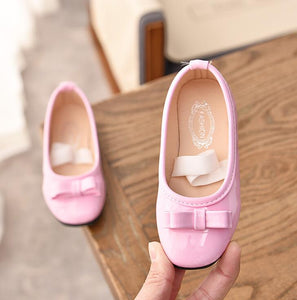 Children Princess Shoes for Girls Sandals Flat Perfect Design Bow Leather Shoes Female Party Dress Shoes Size 21-36
