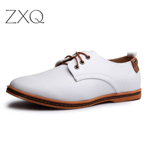 Hot Sale New oxford Casual shoes Men Fashion Men Leather Shoes Spring Autumn Men Flat Patent Leather Men Shoes WGL-K03-1