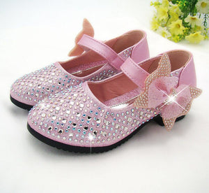 New Princess Children Princess Sandals Kids Girls Wedding Shoes Dress Shoes Girls Party Shoes
