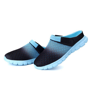 FONIRRA Hot Sale Summer Mesh Men Sandals Comfortable Beach Couple Sandals Breathable Waterproof Plus size 36-46 Men Sandals 809