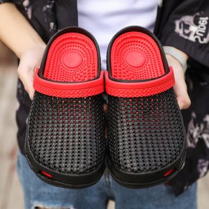 Hole Shoes Men Shoes Male Sandals Crocse Summer Shoes Sandalias Hombre Slippers Sandalet Clogs Sandles New 2019 Croc Mens Shoes