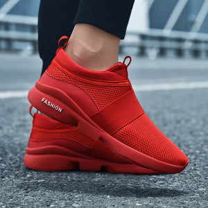 Men's Air Mesh Casual Shoes Men Sneakers Slip On Summer Shoes Man Light Breathable Walking Fashion Shoes For Men chaussure homme
