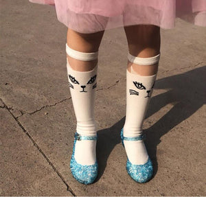 Children Girl Sandals Jelly Princess Dress Up Cosplay Kids Shoes Girls Mary Jane Shoes For Stage Dancing Show 25-37 High Quality
