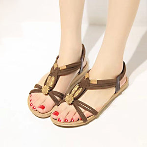 2019 Fashion Women Shoes Sandals Comfort Sandals Summer Flip Flops High Quality Flat Sandals Gladiator Sandalias Mujer