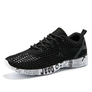 ZYYZYM Shoes Men Fashion Sneakers 2019 Spring Summer Men Mesh Casual Shoes Light Hollowing Breathable Men Water Shoes Footwear