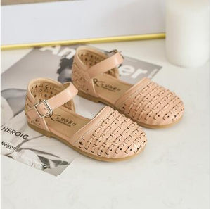 Dance Princess Sandals Children Infant Kids Baby Girls Cute Weaving Dance Princess Sandals Shoes