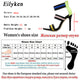 Eillyken 2019 Newest Block Cage High heels Sandals Cut-out Patchwork Buckle Strap Dress Shoes Summer Gladiator Sandals