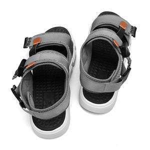 Summer Men's Canvas Sandals Buckle Design Slip-on Casual Gladiator Sandals For Male Fashion Men Beach Sandals Zapatillas 007M