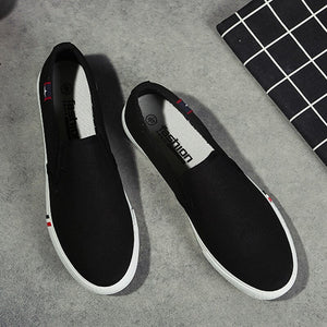 fashion Spring Men Shoes Casual Canvas sneakers men Breathable Walking Footwear Loafers Flat Couples Shoes zapatillas hombre