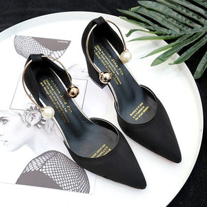 wild suede pointed high heels