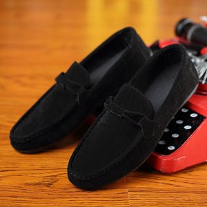 Fashion Mens Loafers Zapatos De Hombre Summer Cozy Suede Slip on Men Shoes Leisure Driving Moccasin Men Soft Casual Sneakers New