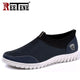 REETENE 2019 Summer Mesh Shoe Sneakers For Men Shoes Breathable Men Casual Shoes Slip-On Male Shoes Loafers Casual Walking 38-48