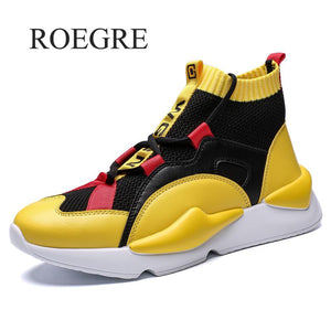 Mens Autumn & Winter Sneakers High Top Brand Shoes Casual Shoes Men Casual Men Shoe Fashion Products Mens Shoes Casual Zapatos