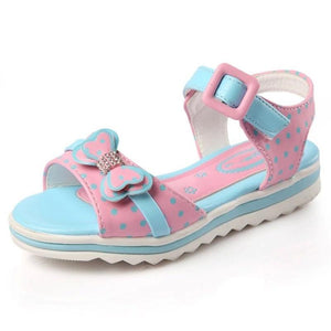 Girls Sandals Summer Princess Shoes Bowknot Open Toe Children Sandals for Girl Shoes Student Shoes