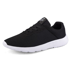 High Quality Casual Shoes Big Size 10 8 13 Black True Brand Tennis Comfort Ultra Air Mesh New Arrival Loafers Walking Men 559