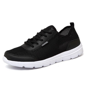 2019 Summer large size New Simple Shoes Men Breathable For Mens Casual Shoes Cheap Fashion mesh Zapatillas Hombre male sneakers