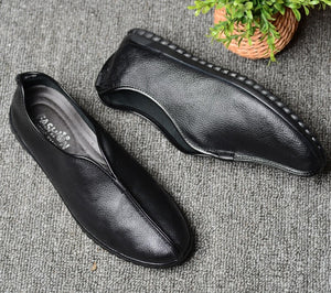 Men Shoes Big Size 48 Fashion Genuine Leather Breathable Holes Men Casual Shoes Driving Moccasins Slip on Loafers Man Flat Shoes