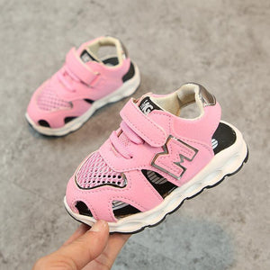 2018 Toddler Summer Style Brand Mesh Children's Sandals Boys Girls Beach Slippers Kids Shoes Sandals Flat