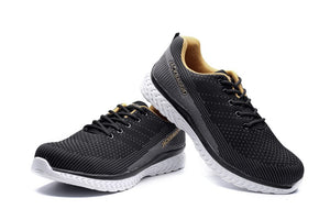 Hot brand men's work safety shoes, breathable lightweight sports shoes, non-slip casual shoes. size 36-45,3 color.